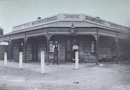 Marrabel Hotel; c. 1900